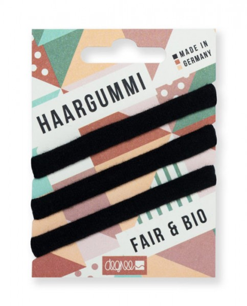 Haargummi - Fair Hair - schwarz