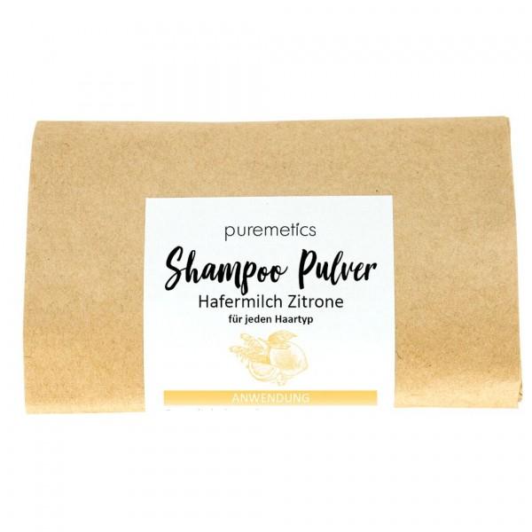 """Shampoo-Pulver """"Hafermilch Zitrone"""""""