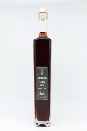 Schoko-Chili Likör 35% Vol.