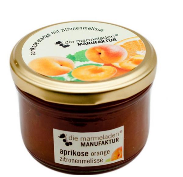 Aprikose Orange mit Zitronenmelisse, 170 g