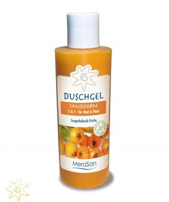 Sanddorn Duschgel 2 in 1 Natural (200 ml)
