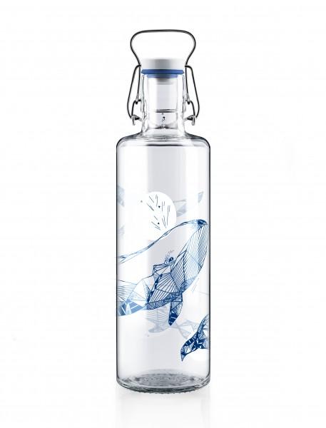 """Glas-Trinkflasche 1 Liter, """"Souldiver"""""""