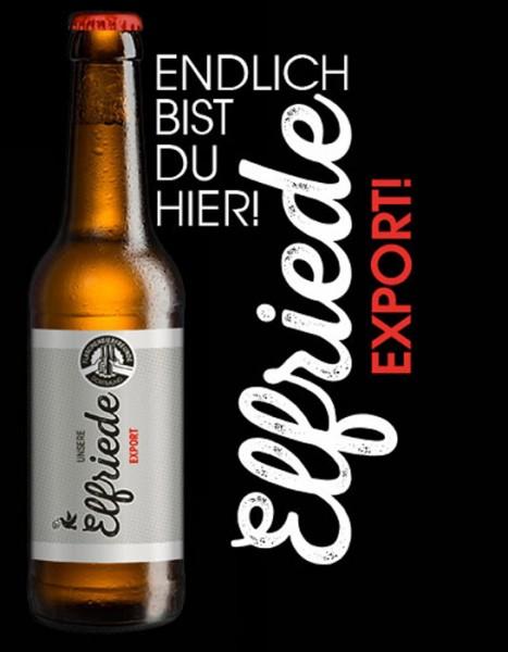 """Exportbier """"Elfriede"""""""