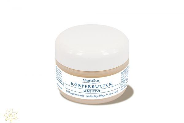 Körperbutter SENSITIVE - parfümfrei (50 ml)