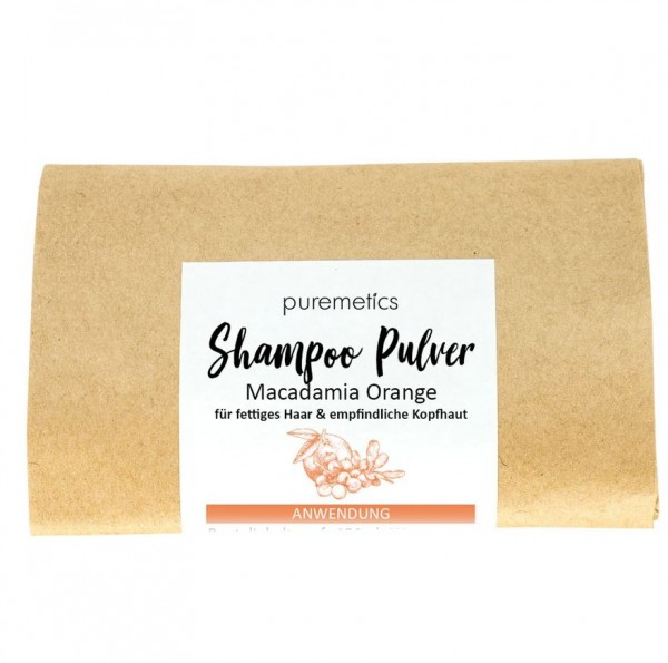 "Shampoo-Pulver ""Macadamia Orange"""