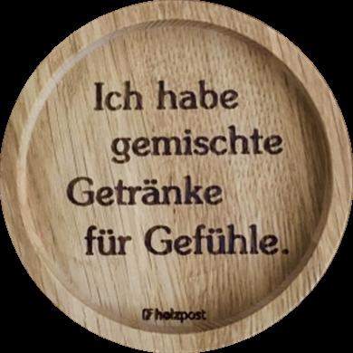 """Untersetzer """"Getränke"""""""
