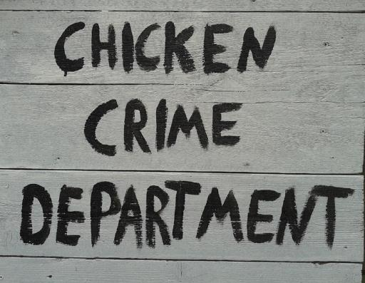 Chicken Crime Department